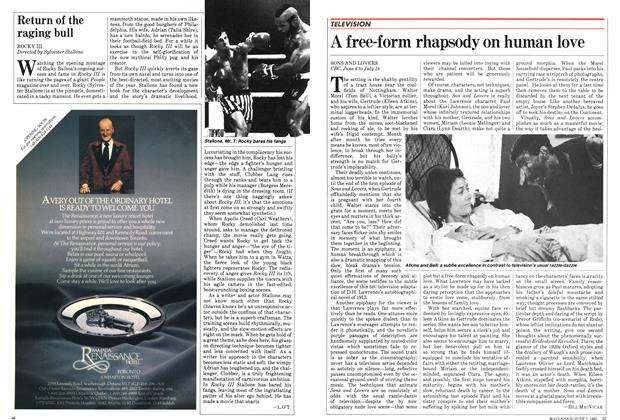 Article Preview: A free-form rhapsody on human love, June 1982 | Maclean's