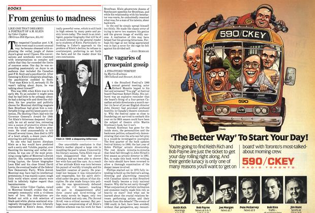 Article Preview: From genius to madness, June 1982 | Maclean's