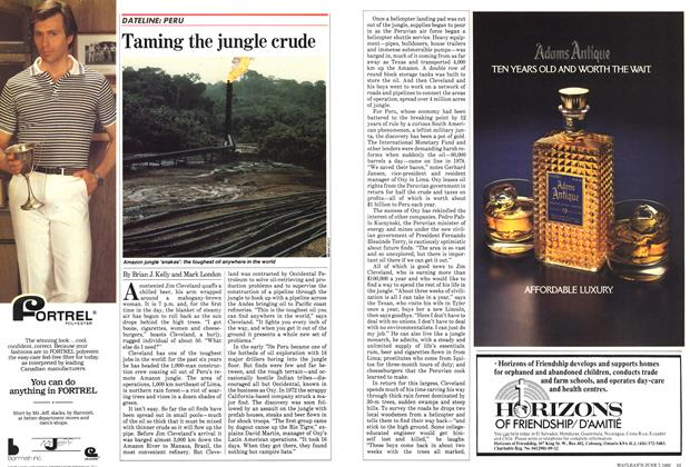 Article Preview: Taming the jungle crude, June 1982 | Maclean's