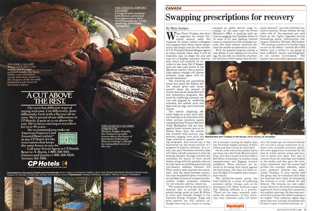 Article Preview: Swapping prescriptions for recovery, June 1982 | Maclean's