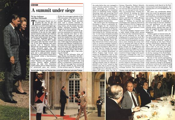 Article Preview: A summit under siege, June 1982 | Maclean's