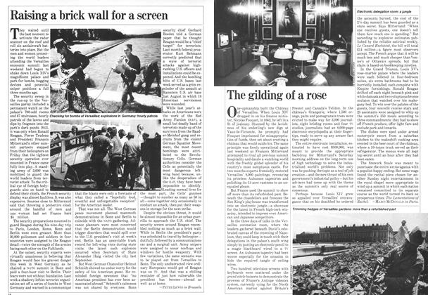 Article Preview: The gilding of a rose, June 1982 | Maclean's