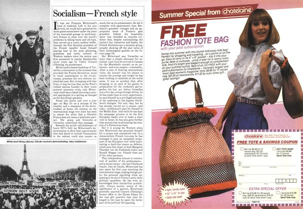 Article Preview: Socialism—French style, June 1982 | Maclean's