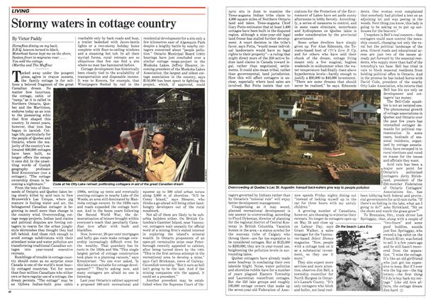 Article Preview: Stormy waters in cottage country, June 1982 | Maclean's