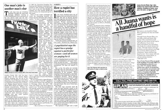 Article Preview: One man's joke is another man's slur, June 1982 | Maclean's