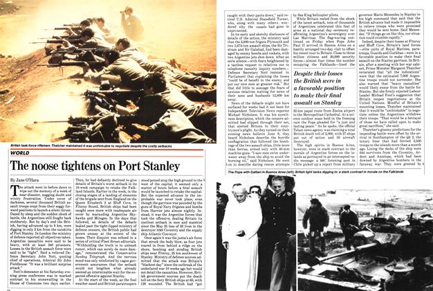 Article Preview: The noose tightens on Port Stanley, June 1982 | Maclean's