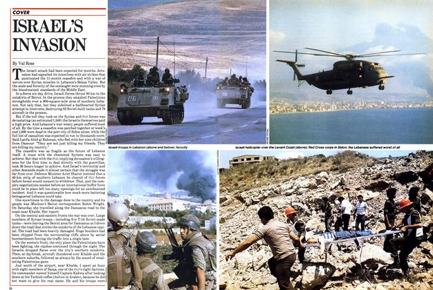 Article Preview: ISRAEL'S INVASION, June 1982 | Maclean's