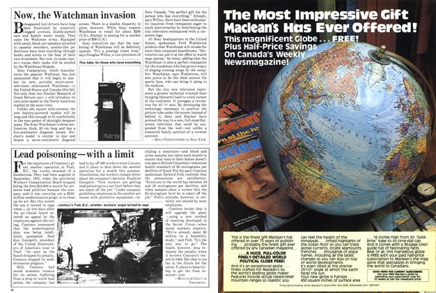 Article Preview: Now, the Watchman invasion, June 1982   Maclean's