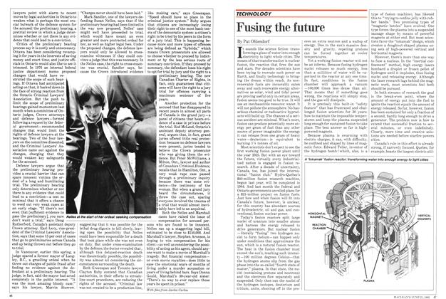 Article Preview: Fusing the future, June 1982 | Maclean's