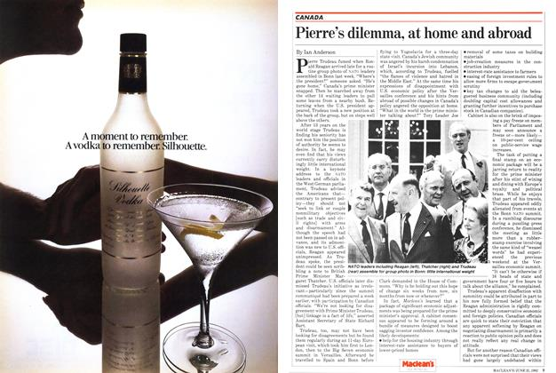 Article Preview: Pierre's dilemma, at home and abroad, June 1982 | Maclean's