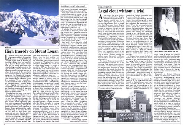 Article Preview: High tragedy on Mount Logan, June 1982 | Maclean's