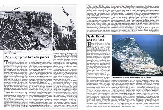 Article Preview: Spain, Britain and the Rock, June 1982 | Maclean's