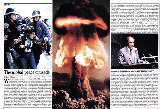 Article Preview: The global peace crusade, June 1982 | Maclean's