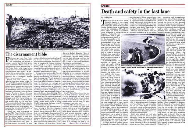 Article Preview: Death and safety in the fast lane, June 1982 | Maclean's