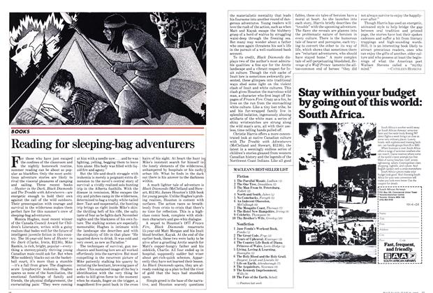 Article Preview: Reading for sleeping-bag adventurers, June 1982 | Maclean's