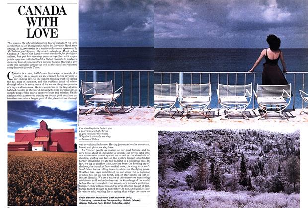 Article Preview: CANADA WITH LOVE, July 1982 | Maclean's
