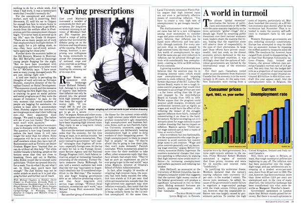Article Preview: Varying prescriptions, July 1982 | Maclean's