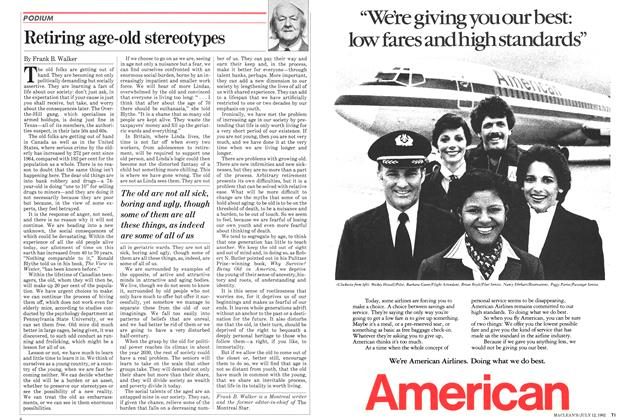 Article Preview: Retiring age-old stereotypes, July 1982 | Maclean's