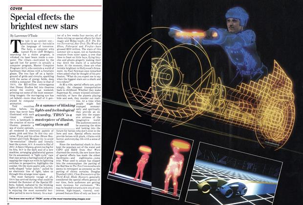 Article Preview: Special effects: the brightest new stars, July 1982 | Maclean's