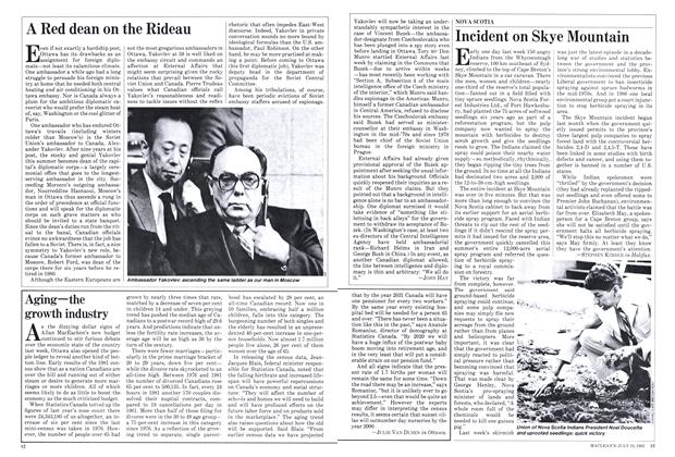 Article Preview: A Red dean on the Rideau, July 1982 | Maclean's