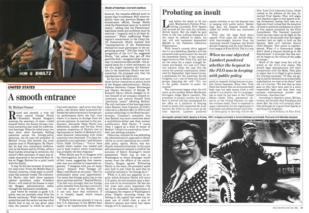 Article Preview: Probating an insult, July 1982 | Maclean's