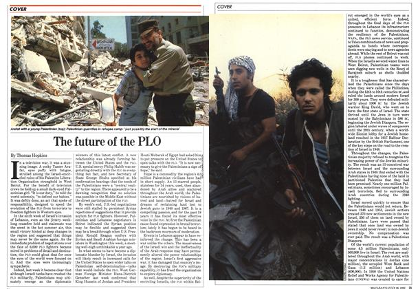 Article Preview: The future of the PLO, July 1982 | Maclean's