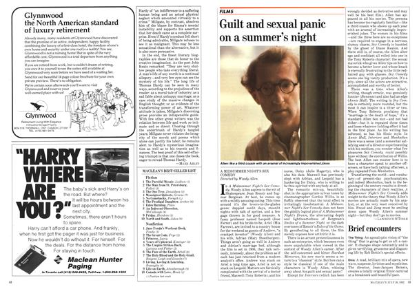 Article Preview: Guilt and sexual panic on a summer's night, July 1982 | Maclean's