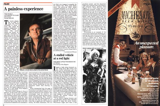 Article Preview: A painless experience, August 1982   Maclean's