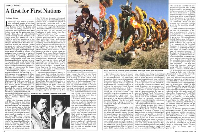 Article Preview: A first for First Nations, August 1982 | Maclean's