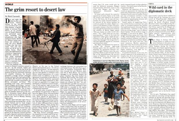 Article Preview: The grim resort to desert law, August 1982 | Maclean's