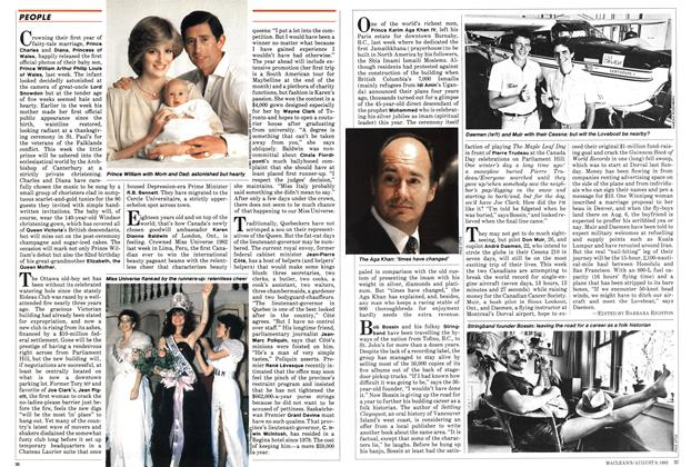 Article Preview: How to celebrate royally, August 1982 | Maclean's