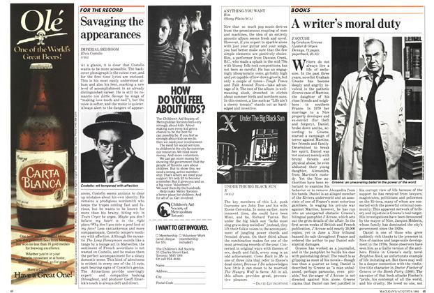 Article Preview: Savaging the appearances, August 1982 | Maclean's