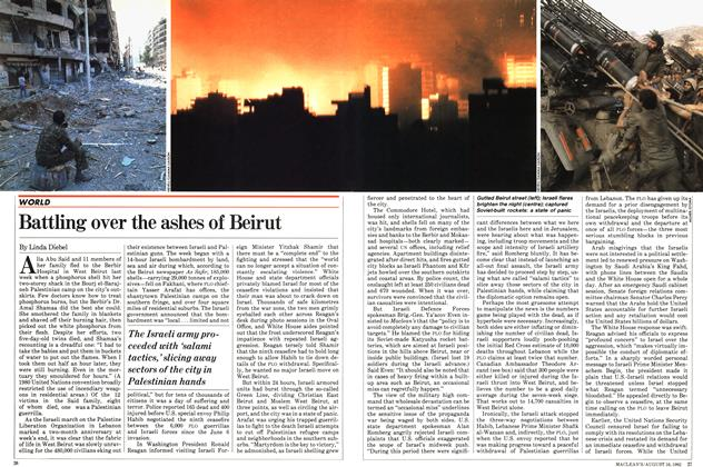 Article Preview: Battling over the ashes of Beirut, August 1982 | Maclean's