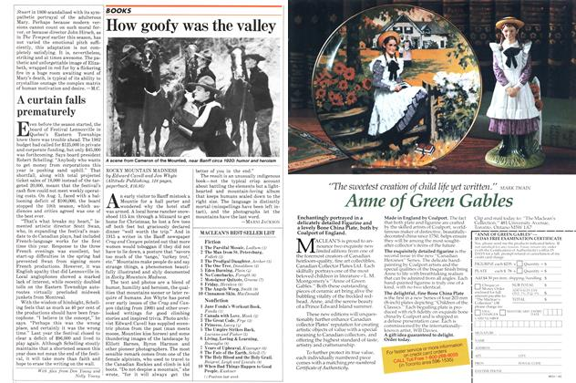 Article Preview: How goofy was the valley, August 1982 | Maclean's