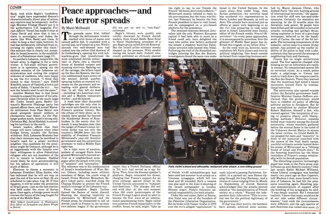 Article Preview: Peace approaches—and the terror spreads, August 1982 | Maclean's