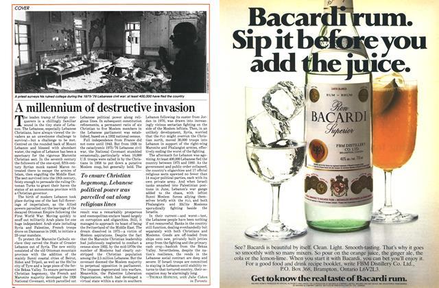 Article Preview: A millennium of destructive invasion, August 1982 | Maclean's