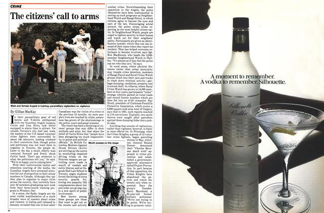Article Preview: The citizens' call to arms, August 1982 | Maclean's