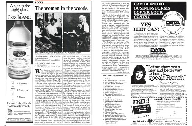 Article Preview: The women in the woods, August 1982 | Maclean's