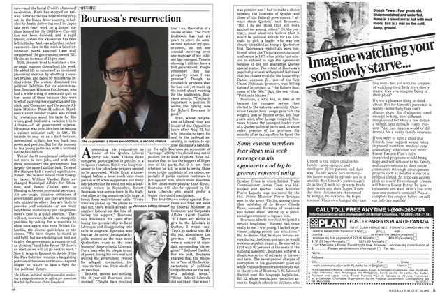 Article Preview: Bourassa's resurrection, August 1982 | Maclean's