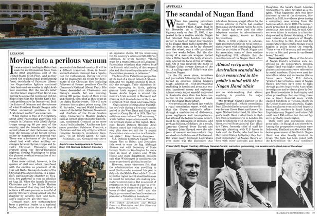 Article Preview: The scandal of Nugan Hand, September 1982 | Maclean's