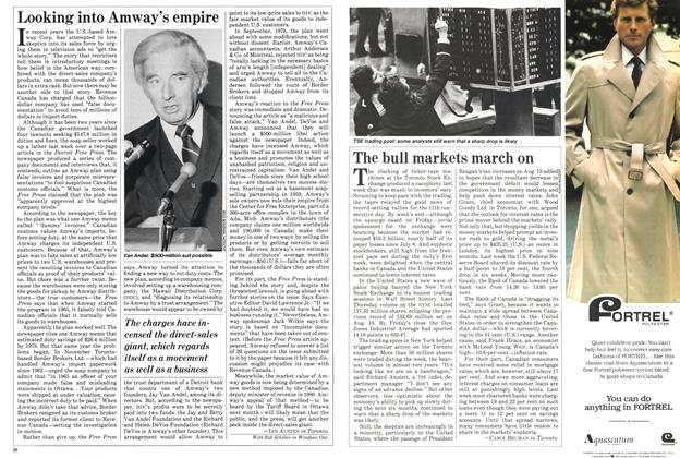 Article Preview: Looking into Amway's empire, September 1982 | Maclean's