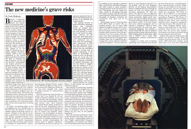 Article Preview: The new medicine's grave risks, September 1982 | Maclean's