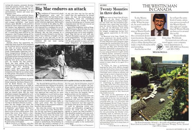 Article Preview: Big Mac endures an attack, September 1982 | Maclean's