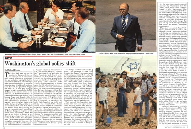 Article Preview: Washington's global policy shift, September 1982 | Maclean's