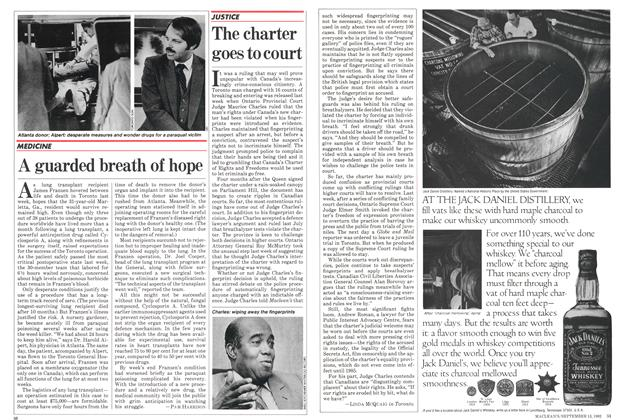 Article Preview: The charter goes to court, September 1982 | Maclean's