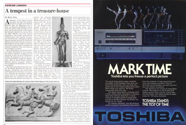Article Preview: A tempest in a treasure-house, September 1982 | Maclean's