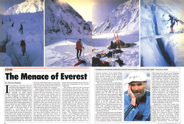 Article Preview: The Menace of Everest, September 1982 | Maclean's
