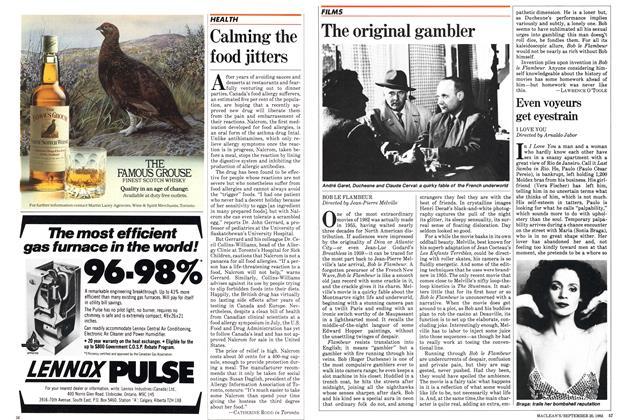 Article Preview: The original gambler, September 1982   Maclean's