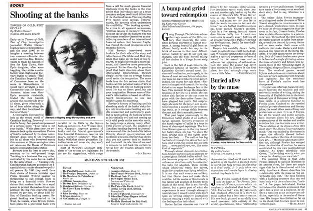 Article Preview: A bump and grind toward redemption, September 1982 | Maclean's