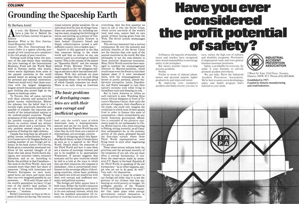 Article Preview: Grounding the Spaceship Earth, September 1982 | Maclean's